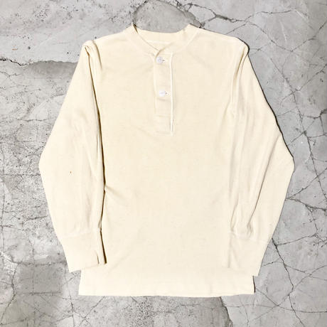 【WOMENS】70's U.S.ARMY Henley neck