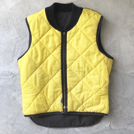 90's CAT Quilting×Duck Vest