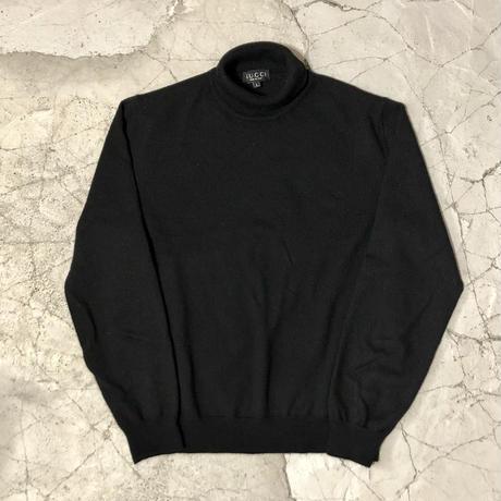 Gucci Black Cashmere Turtleneck Sweater