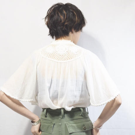 "Vintage Blouse ""Frill"""