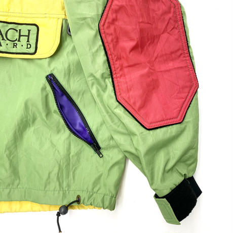 "Vintage ""WEST BEACH"" Snowboard Gear Backprint"