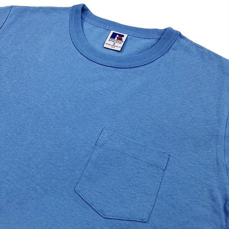 RUSSELL ATHLETIC ポケ付Tシャツ<1002_OLDBLUE>