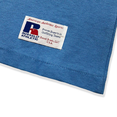 RUSSELL ATHLETIC  プリントTシャツ<1001PT KIDS_OLD BLUE>