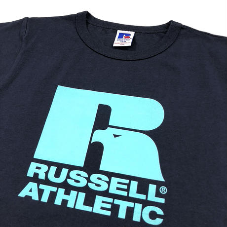 RUSSELL ATHLETIC  プリントTシャツ<1001PT KIDS_NAVY>