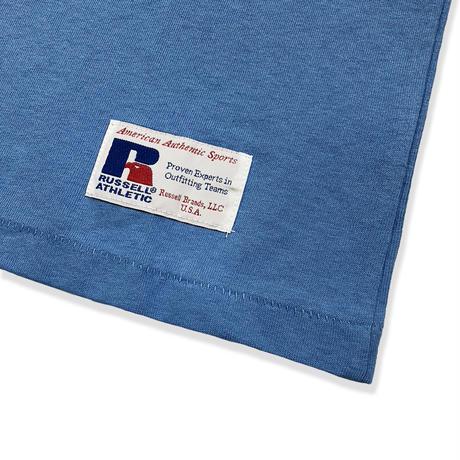 Bookstore Jersey Print Crew Neck T<1001PT_OLD BLUE>