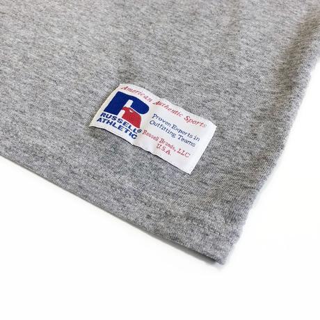 Berkley×RUSSELL ATHLETICコラボ ロングスリーブTシャツ<003BK_GRAY>