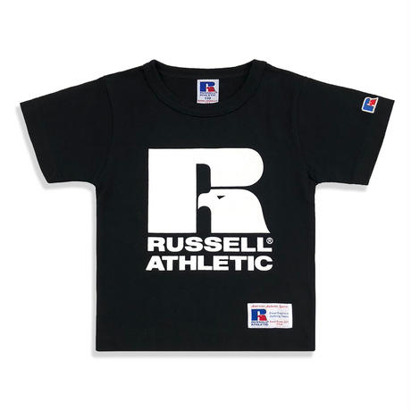 RUSSELL ATHLETIC  プリントTシャツ<1001PT KIDS_BLACK>