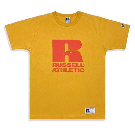 RUSSELL ATHLETIC  プリントTシャツ<1001PT_OLDGOLD>