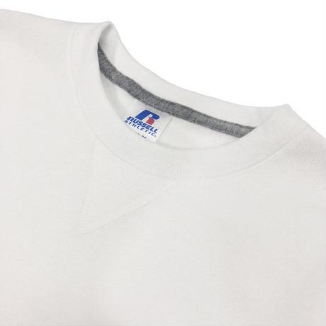 Dri-Power Fleece Crew Sweat Shirt<698HBM1_WHITE>