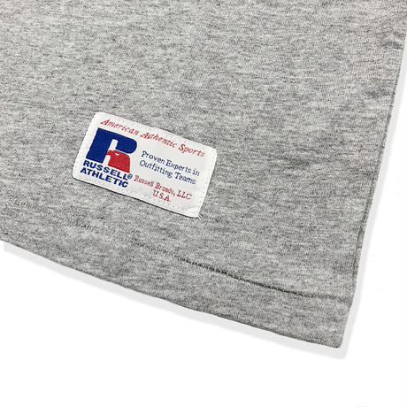 RUSSELL ATHLETIC ポケ付Tシャツ<1002_H.GRAY>