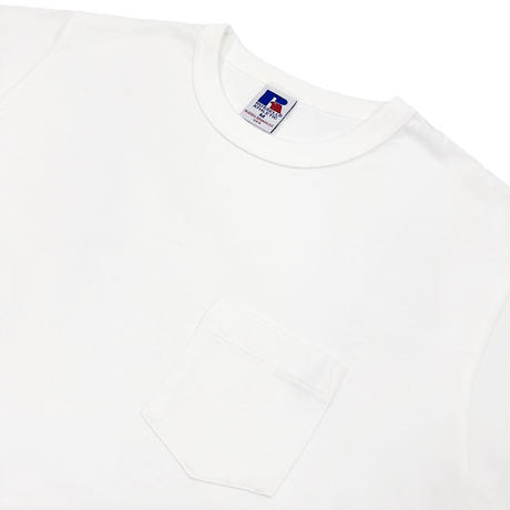 BookStore Jersey Crew Neck Pocket T<1002_WHITE>