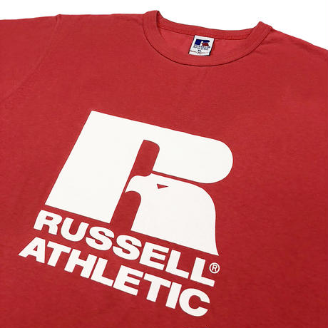 Bookstore Jersey Print Crew Neck T<1001PT_OLD RED>