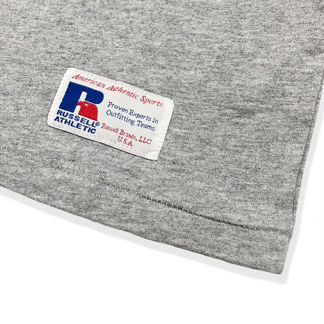 RUSSELL ATHLETIC  プリントTシャツ<1001PT KIDS_H.GRAY>