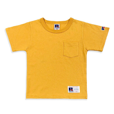 BookStore Jersey Crew Neck Pocket T<1002KIDS_OLD GOLD>