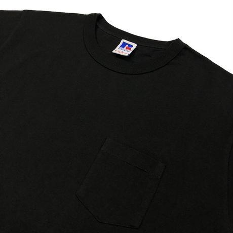 BookStore Jersey Crew Neck Pocket T<1002_BLACK>