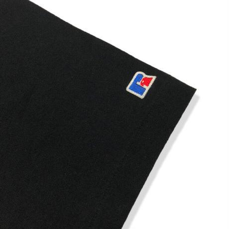 BookStore Jersey Print Crew Neck T <1001PT_BLACK>