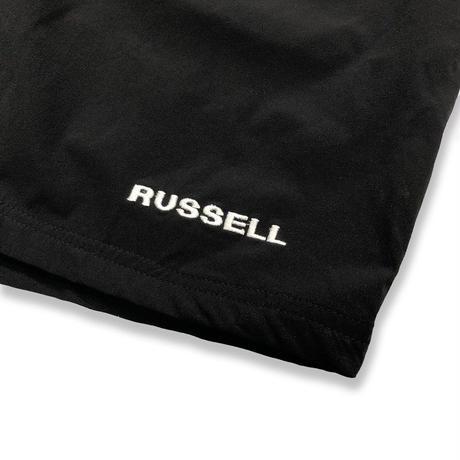 RUSSELL ジムショーツ <18024_BLACK>