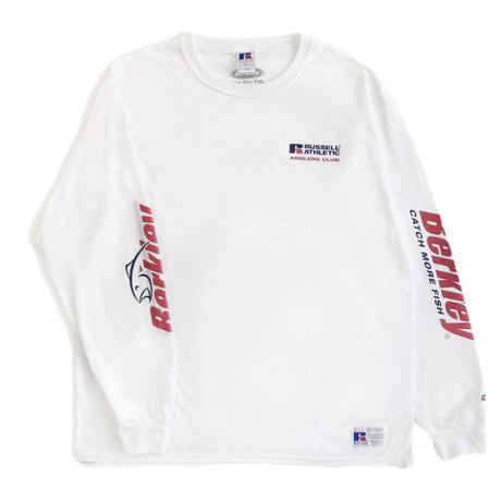 Berkley×RUSSELL ATHLETIC コラボロングスリーブTシャツ<003BK_WHITE>