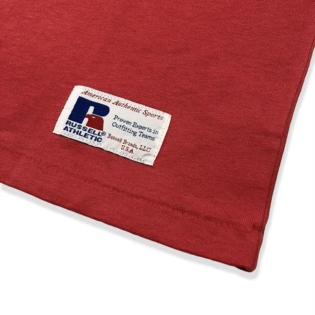 RUSSELL ATHLETIC ポケ付Tシャツ<1002_OLDRED>