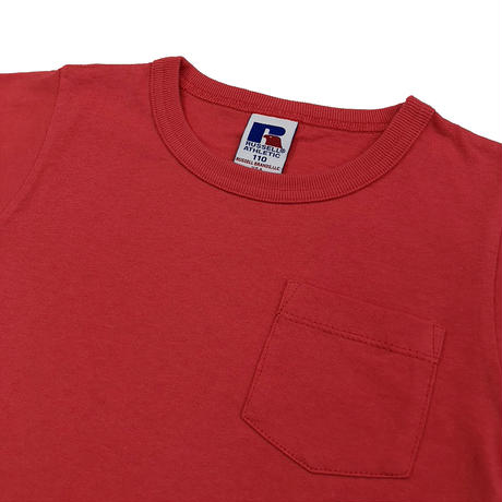 BookStore Jersey Crew Neck Pocket T<1002KIDS_OLD RED>