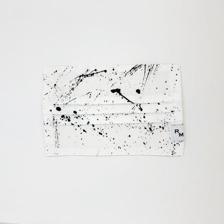 DENIM MASK  COVER  white/black 3548  Mサイズ