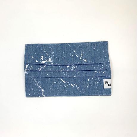 DENIM MASK  COVER  bleach/white 3599  Mサイズ