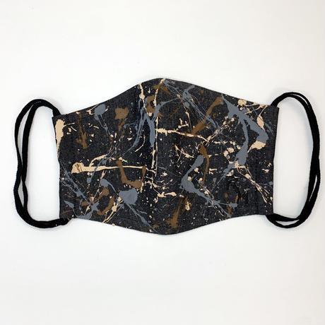 DENIM MASK- MASK-2995  black/dessert camouflage   Mサイズ