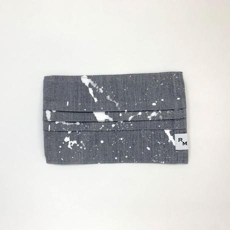 DENIM MASK  COVER  gray/white 3449  Mサイズ