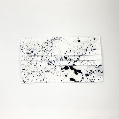 DENIM MASK  COVER  white/indigo 3597  Lサイズ