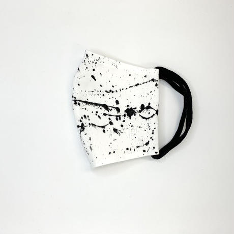 DENIM MASK- WT-3588 white/black  Mサイズ