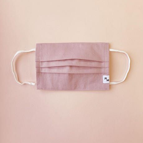 DENIM MASK  COVER  /ASH PINK
