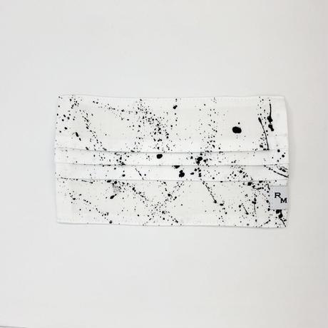 DENIM MASK  COVER  white/black 3551  Lサイズ