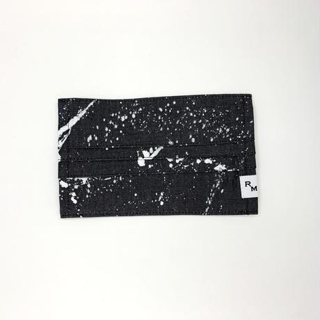 DENIM MASK  COVER  black/white 3556  Mサイズ