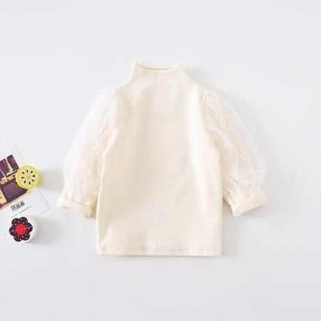 レースぽわん袖トップス(357)