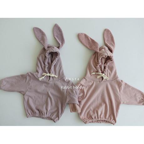 Aosta  Rabbit hoody (373)