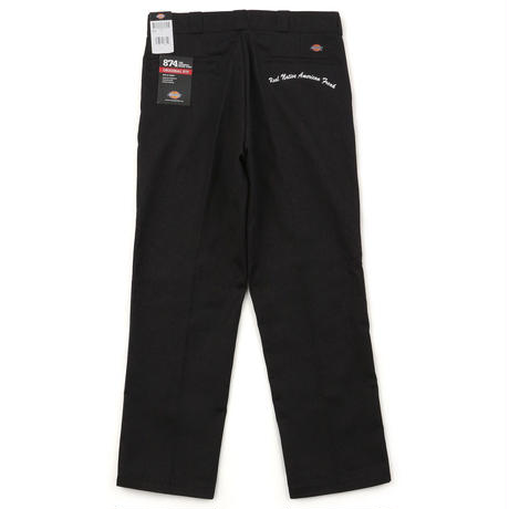 Indian chief & Embroidery Long Workpants
