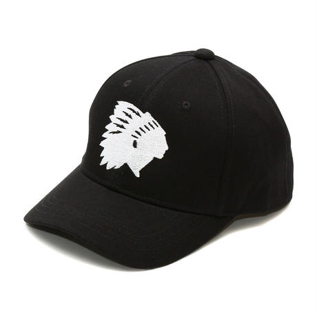 Indian Chief Silhouette embroidery Cotton Cap
