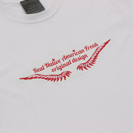 Feather logo T shirt