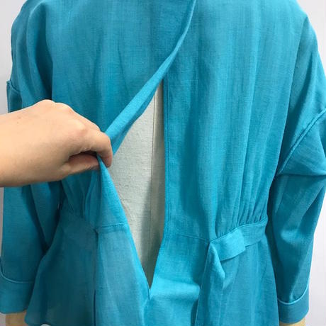 """#101🔻Luv our days  """"Hand stitched blouse"""""""