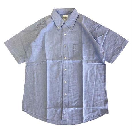 THE BAGGY  OXFORD S/S BD SHIRTS  BLUE バギー オックスフォード ボタンダウン 半袖 シャツ OXBD