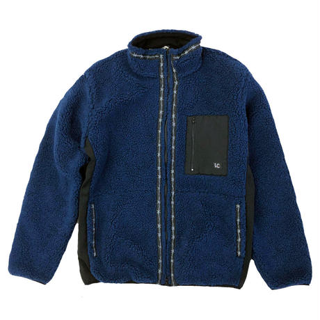 LAST CHANCE  RETROBOA FLEECE JACKET NAVY  ラストチャンス ボア フリース ジャケット LAST CHANCE SPORTSWEAR