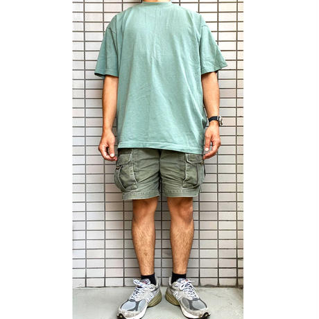 LOS ANGELES APPAREL 6.5oz Garment Dye CREW S/S TEE OFF WHITE ロサンゼルスアパレル Tシャツ オフホワイト MADE IN USA