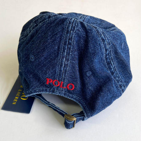 POLO Ralph Lauren / Classics Denim Ball Cap DARK WASH DENIM ポロ ラルフローレン キャップ デニム