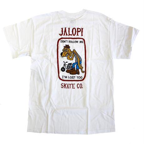 ANTI HERO   JALOPI SKATE CO POCKET TEE  WHITE  Tシャツ