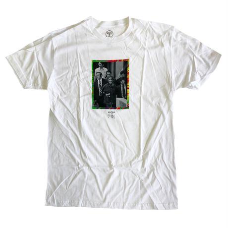GOOD WORTH  ESCORT WHITE グッドワース Tシャツ