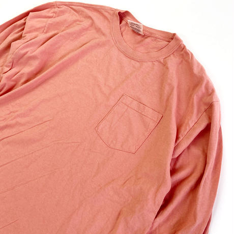 COMFORT COLORS 6.1oz L/S Pocket TEE TERACOOTTA コンフォートカラーズ 長袖Tシャツ ロンT