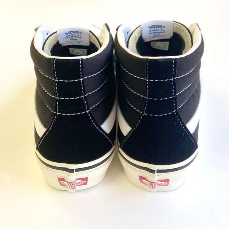 VANS SK8-HI 38 DX  (ANAHEIM FACTORY) BLACK バンズ スケートハイ アナハイム