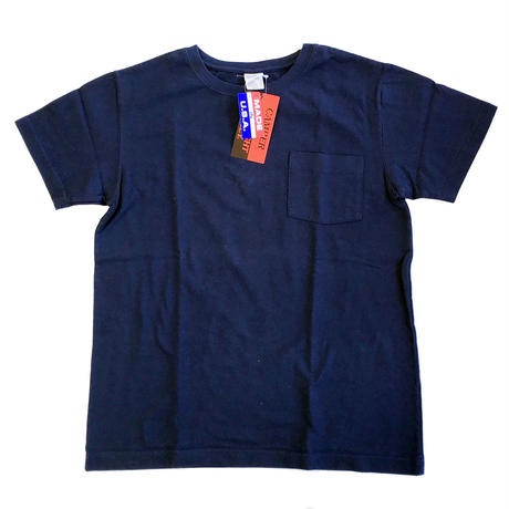CAMBER / キャンバー 別注Tシャツ  302 SP Max Weight Crew Neck Pocket TEE NAVY