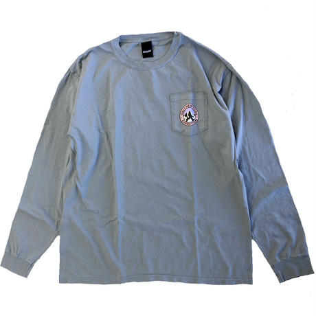 ONLY NY EXPEDITION L/S T-SHIRT granite オンリーニューヨーク 長袖Tシャツ