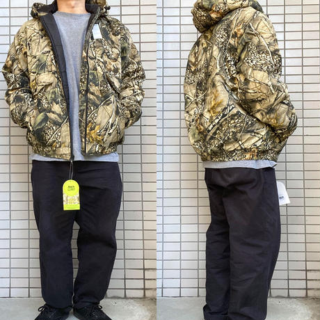 World Famous Sports  Insulated Hooded Jacket  ハンティングジャケット Burly Tan  WFS リアルツリーカモ